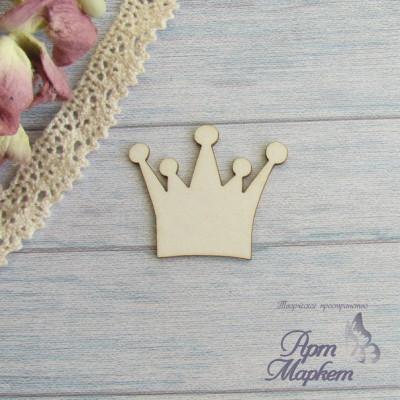 Корона с 5 наконечниками РАЗМЕР: 3,5 х3 см