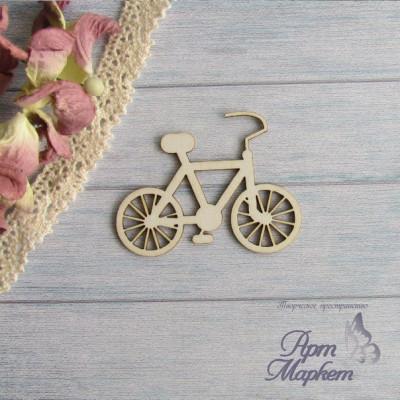Велосипед. РАЗМЕР: 5х3,8 см