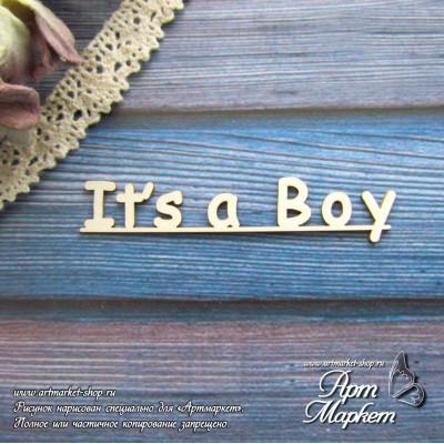 It s a Boy РАЗМЕР: 6 х  1,3 см