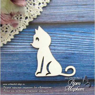 Котенок РАЗМЕР: 3,5 х  3,1 см