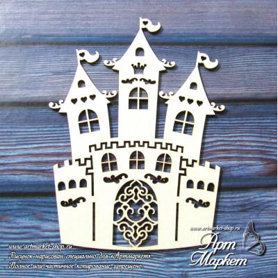 Замок РАЗМЕР: 11 х  8 см