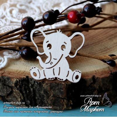 Слоненок РАЗМЕР: 4х3,8см