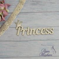 Princess с коронкой РАЗМЕР: 7,7 х3,3 см