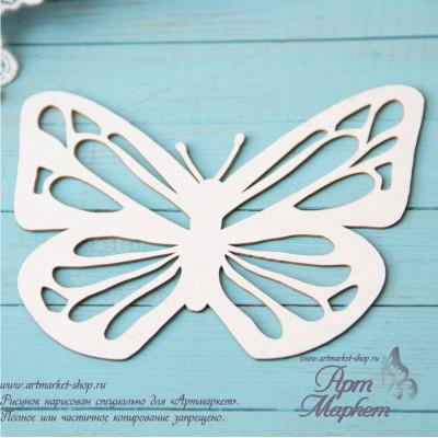 Заготовка  Бабочка,  РАЗМЕР: 13х11,7 см