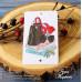 Карточка клипарт, Фон: белый, покрытие: шагрень РАЗМЕР: 8,6 х 5,5 см