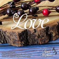 Love надпись РАЗМЕР: 4,5 х 1,8 см