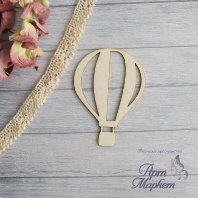 Воздушный шар простой. РАЗМЕР: 4 см х 5,5 см