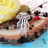 Чипборд Морское растение РАЗМЕР: 4,3х2,5 см