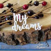 My dreams РАЗМЕР: 4,3х 2,7см