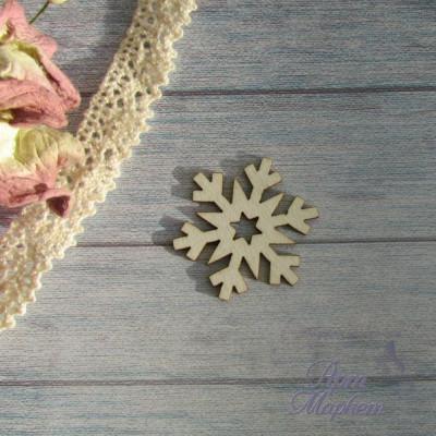 Снежинка РАЗМЕР: 3х3 см