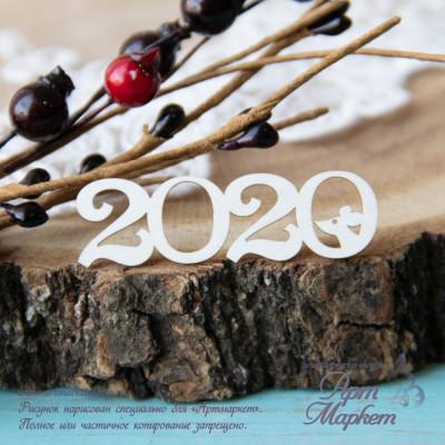 Чипборд 2020 РАЗМЕР: 5,2х1,6 см