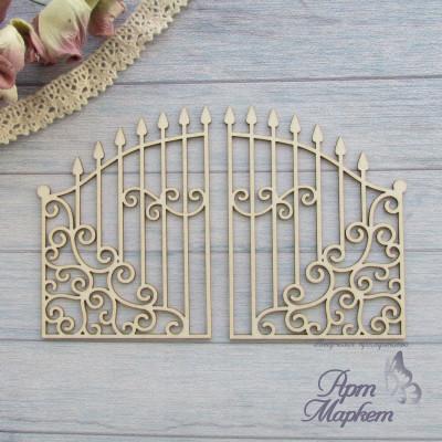 Ворота винтажные РАЗМЕР 12,4х8 см