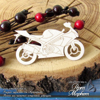 Мотоцикл РАЗМЕР: 6,5 х 3,7 см