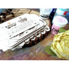 Декорирование чипборда в скрапбукинге