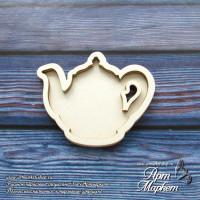 Заготовка для создания шейкера Чайник  3 шт. РАЗМЕР: 4х4,9 см
