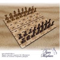 Шахматы сувенирные игральные