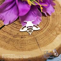 Чипборд Пчела РАЗМЕР: 8х6 см