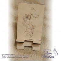 Подставка для смартфона Цветок, РАЗМЕР: 15х8х9 см