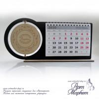 Календарь настольный деревянный перекидной РАЗМЕР: 26х12,6х4 см
